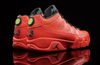 "hot sale online c0725 088e3 WHERE TOBUY: Air Jordan 9 Low ""Bright Mango"" this Saturday ..."