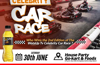 WatsUp TV Celebrity Car Race 2nd Edition